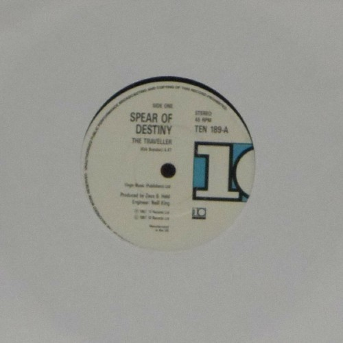 "Spear Of Destiny<br>The Traveller<br>7"" single"