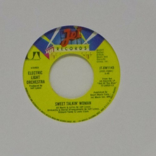 "Electric Light Orchestra<br>Sweet Talkin' Woman<br>7"" single"