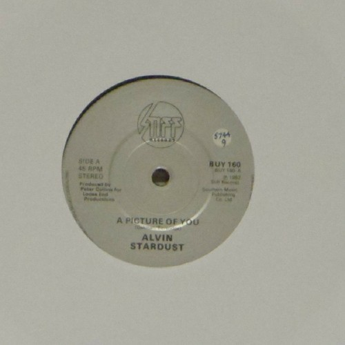"Alvin Stardust<br>A Picture Of You<br>7"" single"