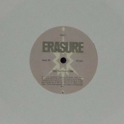 "Erasure<br>You Surround Me<br>7"" single"