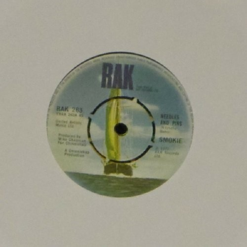 "Smokie<br>Needles And Pins<br>7"" single"