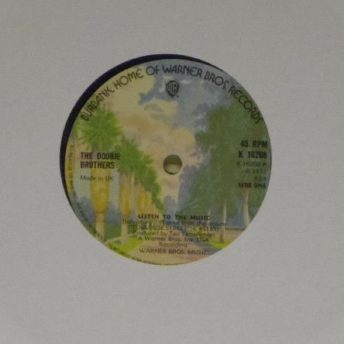 "The Doobie Brothers<br>Listen To The Music<br>7"" single"