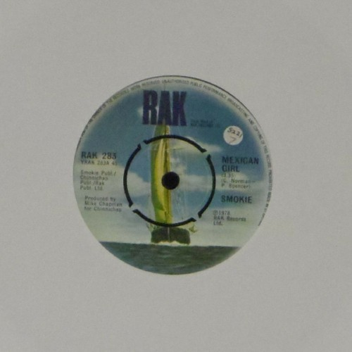 "Smokie<br>Mexican Girl<br>7"" single"