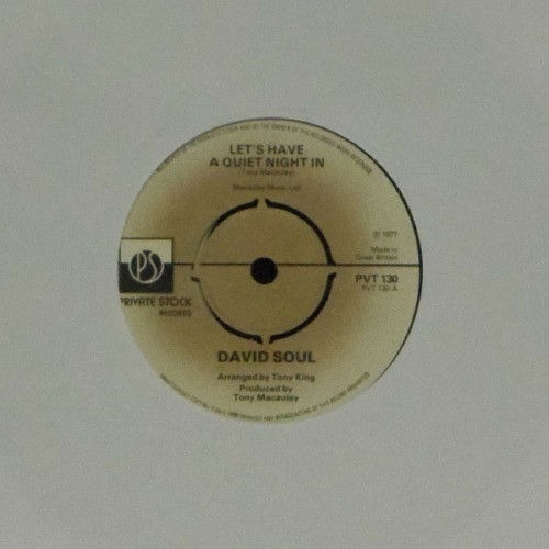 "David Soul<br>Let's Have A Quiet Night In<br>7"" single"