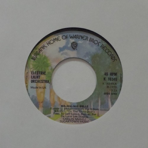 "Electric Light Orchestra<br>Ma-Ma-Ma Belle<br>7"" single"