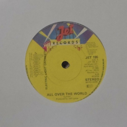 "Electric Light Orchestra<br>All Over The World<br>7"" single"
