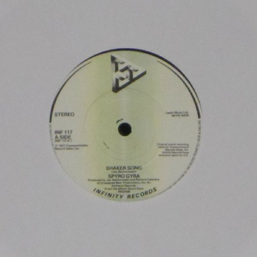 "Spyro Gyra<br>Shaker Song<br>7"" single"