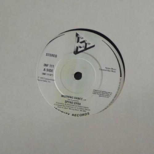"Spyro Gyra<br>Morning Dance<br>7"" single"