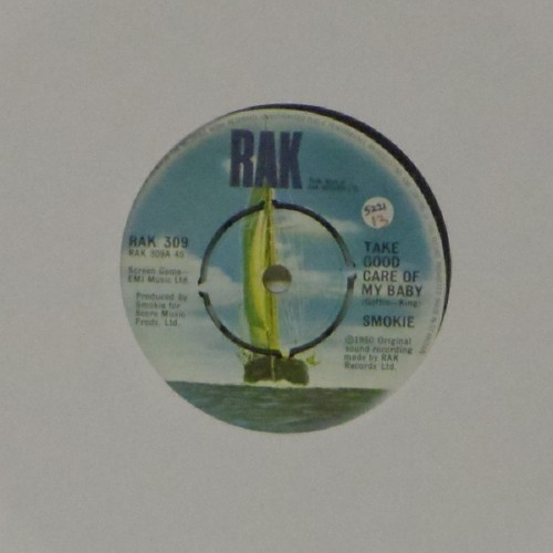 "Smokie<br>Take Good Care Of My Baby<br>7"" single"