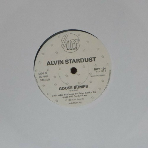 "Alvin Stardust<br>Pretend<br>7"" single"