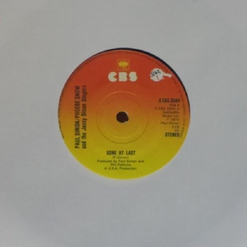 "Paul Simon<br>Gone At Last (With Phoebe Snow)<br>7"" single"