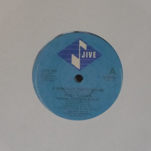 "Ruby Turner<br>If You're Ready (Come Go With Me)<br>7"" single"