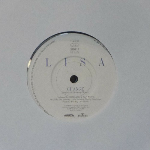 "Lisa Stansfield<br>Change<br>7"" single"