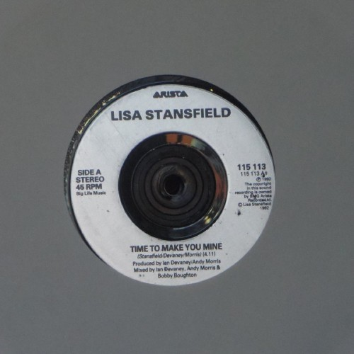 "Lisa Stansfield<br>Tried To Make You Mine<br>7"" single"