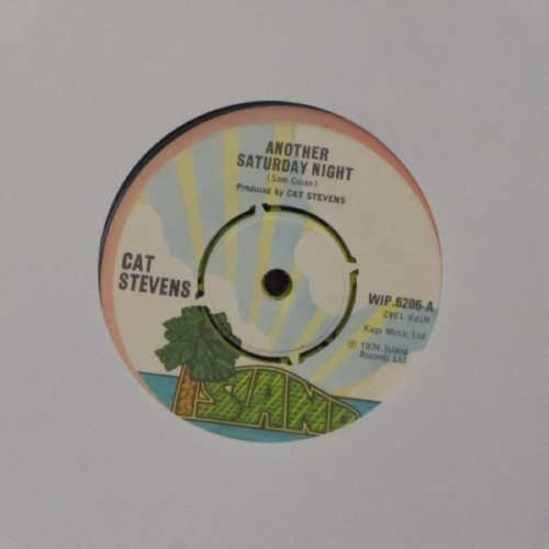 "Cat Stevens<br>Another Saturday Night<br>7"" single"