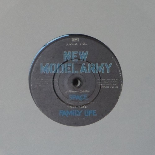 "New Model Army<br>Space<br>7"" single"