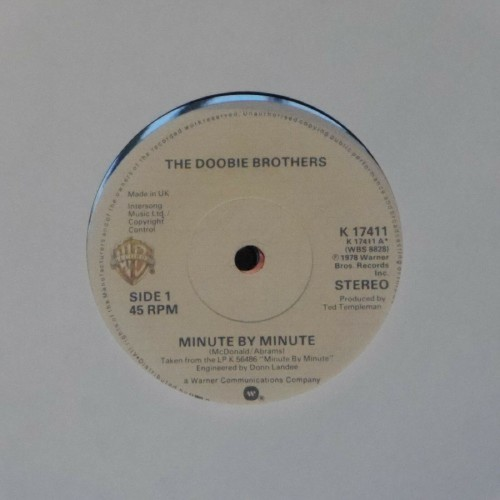 "The Doobie Brothers<br>Minute By Minute<br>7"" single"