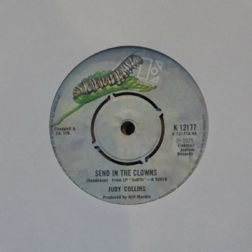 "Judy Collins<br>Send In The Clowns<br>7"" single"