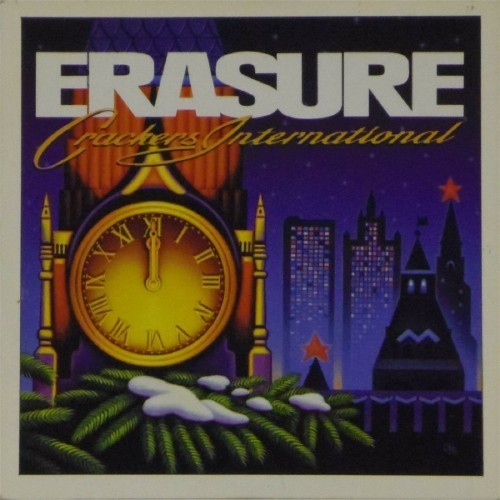 "Erasure<br>Crackers International Ep<br>7"" single"
