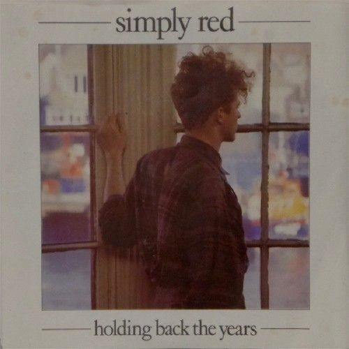 "Simply Red<br>Holding Back The Years<br>7"" single"