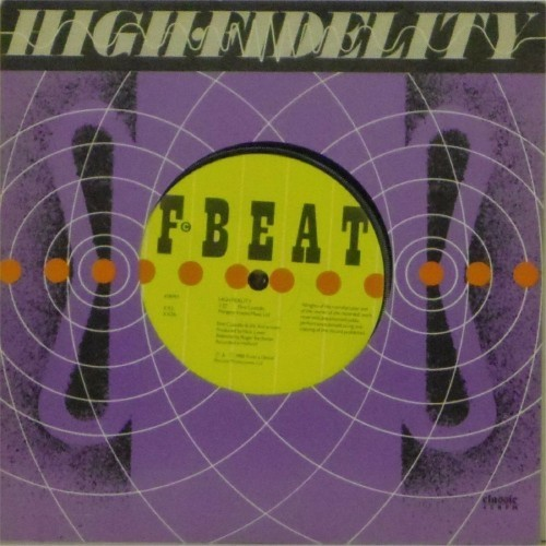 "Elvis Costello & The Attractions<br>High Fidelity<br>7"" single"